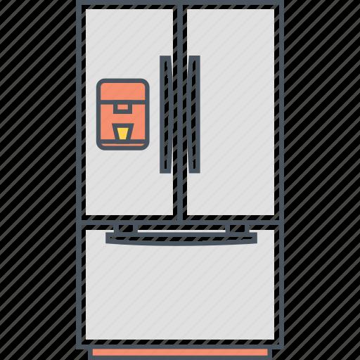 Fridge, freezer, refrigerator icon - Download on Iconfinder