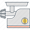 appliance, grinder, grinding, meat grinder icon
