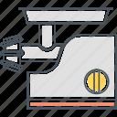 grinder, appliance, grinding, meat grinder