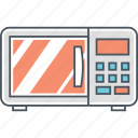 appliance, cooking, microwave icon