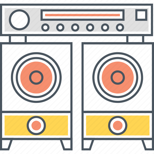 audio, hifi, sound, sound system, speakers, system, woofer icon