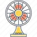 fan, furniture, table fan, wind icon