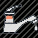 plumbing, tap, tap water icon