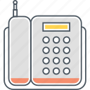call, communication, hotline, landline, telephone icon