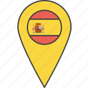 country, european, flag, spain, spanish icon