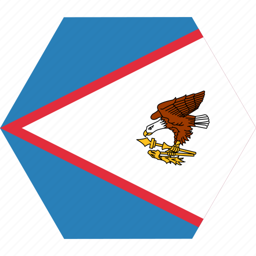 american, country, flag, national, samoa icon