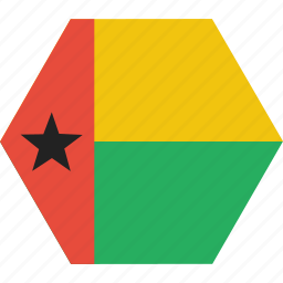 bissau, country, flag, guinea, guinean, national icon