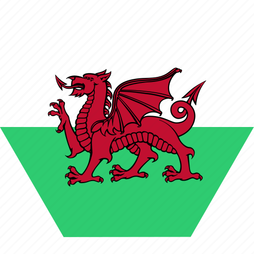 country, european, flag, national, wales, welsh icon