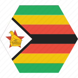 african, country, flag, national, rhodesia, zimbabwe, zimbabwean icon