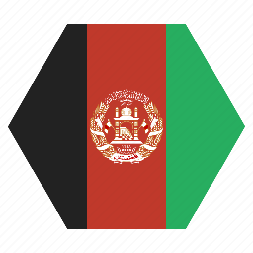 Afghanistan, flag, afghanistani, national, country, afghan, asian icon - Download