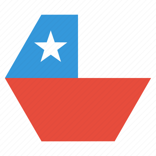 chile, country, flag, national icon