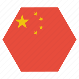 asian, china, chinese, country, flag, national icon