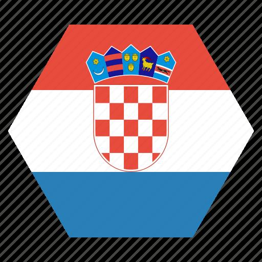 country, croatia, croatian, european, flag, national icon