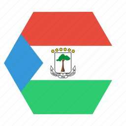 country, equatorial, flag, guinea, guinean, national icon