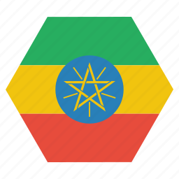 african, country, ethiopia, ethiopian, flag, national icon