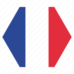 country, european, flag, france, french, national icon