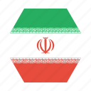asian, country, flag, iran, iranian, national icon