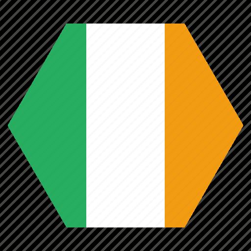 country, european, flag, ireland, irish, national icon