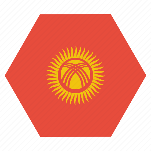 Country, flag, kyrgyzstan, national, asian, kyrgyzstani icon - Download on Iconfinder
