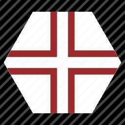 country, european, flag, latvia, latvian, national, variant icon