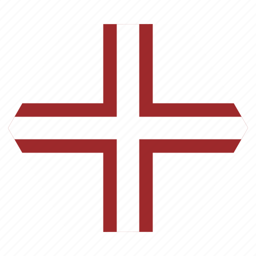 country, european, flag, latvia, latvian, national, variant icon