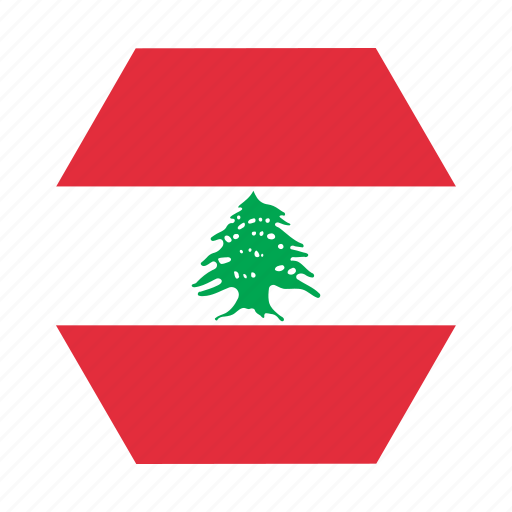 country, european, flag, lebanese, lebanon, national icon