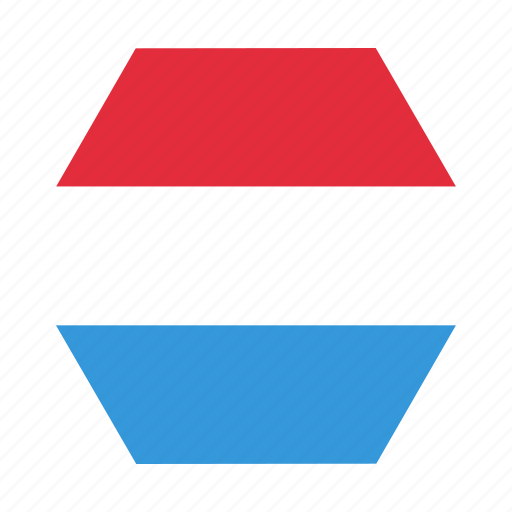 country, european, flag, luxembourg, national icon