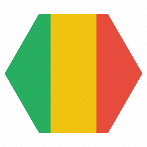 african, country, flag, mali, malian, national icon