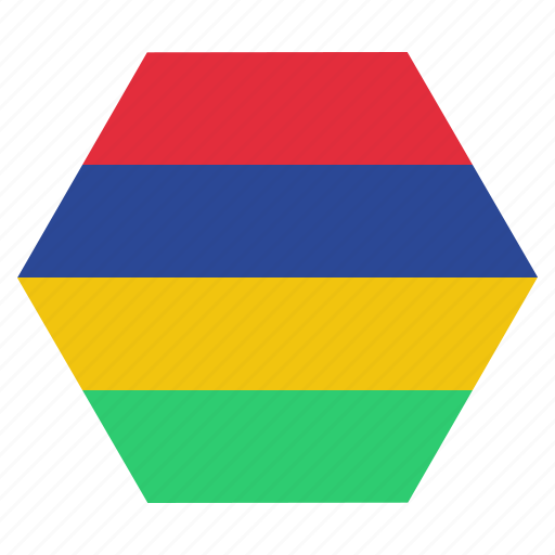 asian, country, flag, mauritian, mauritius, national icon