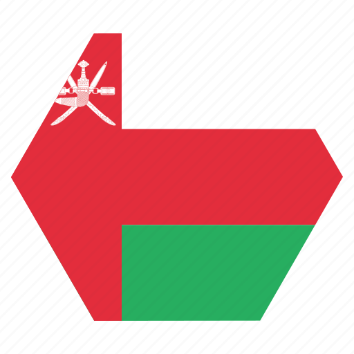 asian, country, flag, national, oman, omani icon