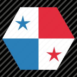 country, flag, national, panama icon