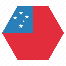 flag, samoa, samoan icon
