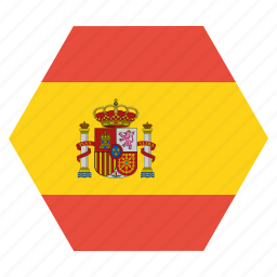 country, european, flag, national, spain, spanish icon