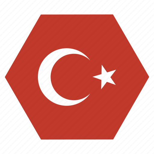 country, european, flag, national, turkey, turkish icon