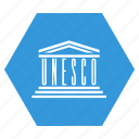 flag, organisation, unesco icon