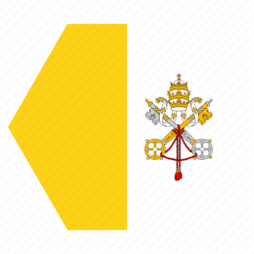 country, european, flag, pope, vatican icon