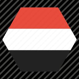 country, flag, national, yemen, yemeni icon