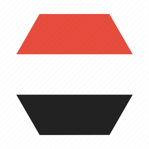 country, flag, national, yemen, yemeni icon