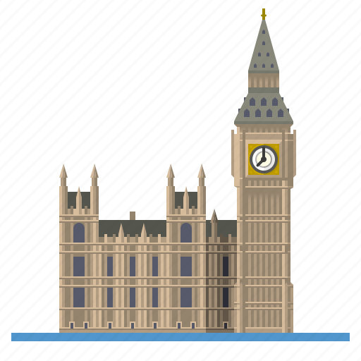 big ben, elizabeth tower, england, houses of parliament, landmark, london, westminster palace icon
