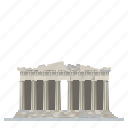 acropolis, athens, greece, landmark, parthenon, ruins, temple icon