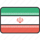 asian, country, flag, iran, iranian, national