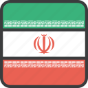 asian, country, flag, iran, iranian