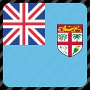 country, fiji, flag, national