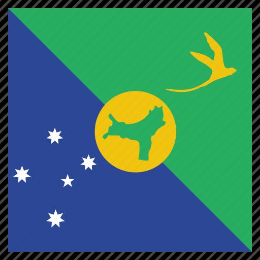 christmas, country, flag, island icon