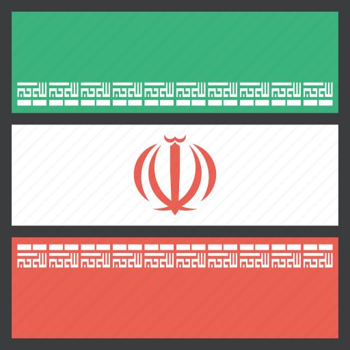 asian, country, flag, iran, iranian icon