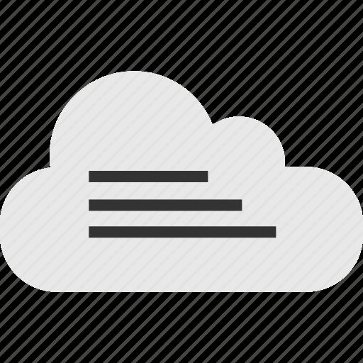 bars, cloud, internet icon