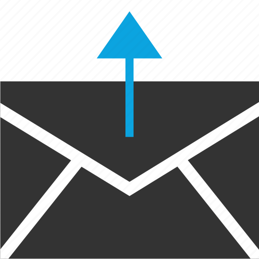 email, internet, send icon
