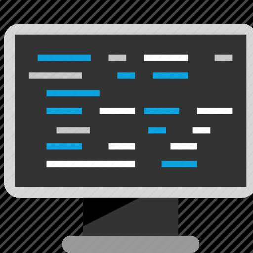 code, coding, hacker, hacking icon