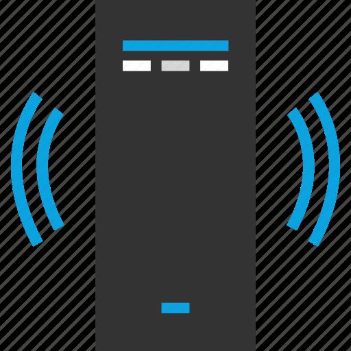 communication, internet, pc, tower icon