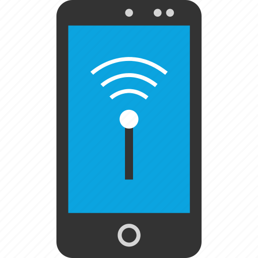 Phone, signal, wifi icon - Download on Iconfinder